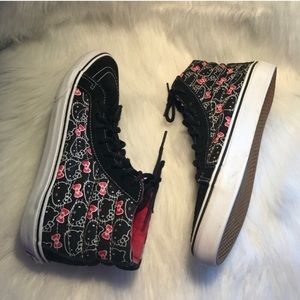 Vans Shoes - VANS HELLO KITTY HIGH TOP SNEAKERS