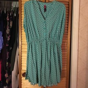 Pure Energy Dresses & Skirts - Green Patterned Dress