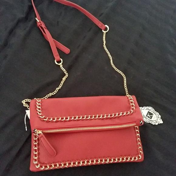 Yoki leather crossbody purse NWT