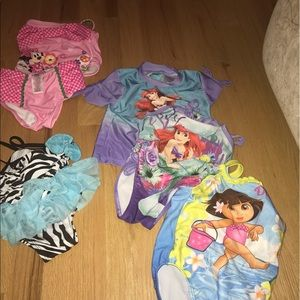 Other - Baby Girl toddler Bathing suits