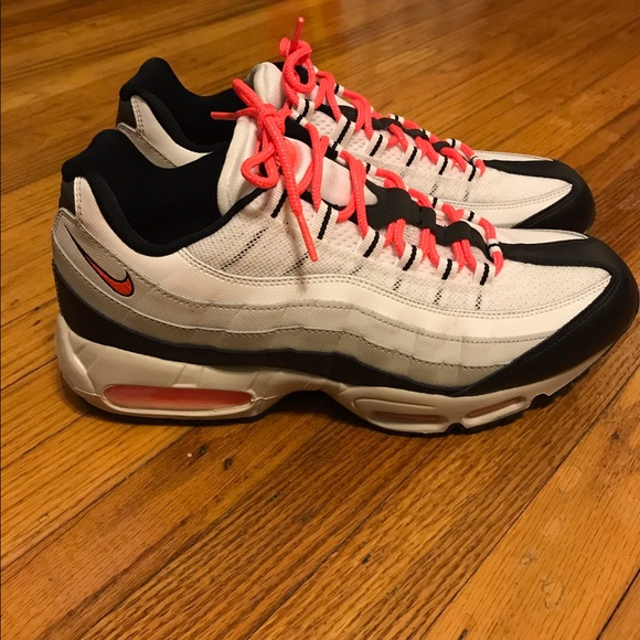 "Nike Other - Size 11 Nike Air Max 95 Hot Pink/Coral ""Lava"""