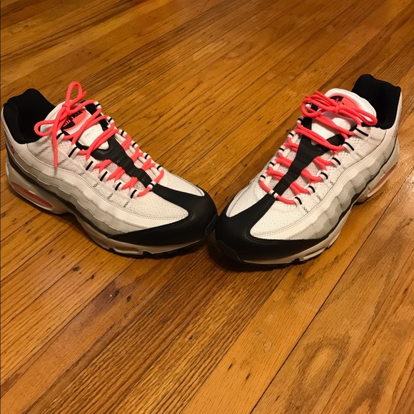 """Nike Shoes - Size 11 Nike Air Max 95 Hot Pink/Coral """"Lava"""""""