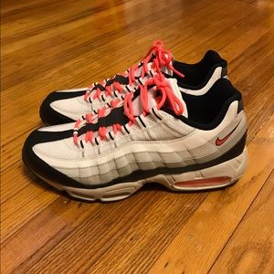 "Nike Shoes - Size 11 Nike Air Max 95 Hot Pink/Coral ""Lava"""