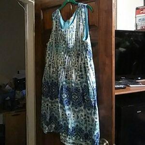 Dress Barn Dresses & Skirts - Shades of Blue dress