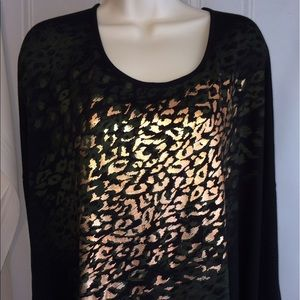 Tops - Tiger Gold Green Metallic 4X Top