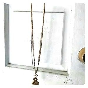 Other - 24 kt gold 4 chain necklace