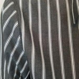 Foxcroft Tops - Foxcroft Striped Button Blouse