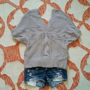 LC Lauren Conrad Sweaters - Lauren Conran drapey knit sweater