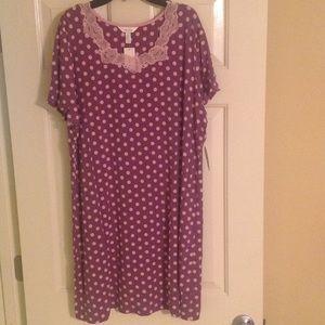 Soma Other - NWT Soma Cool Nights Sleep Shirt Size XL