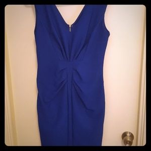 Express size 10 royal blue dress