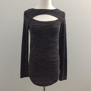 Juicy Couture Cutout Knit Shirt M