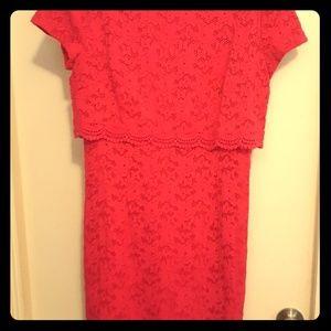 Laundry by Shelli Segal dress size 8 pink