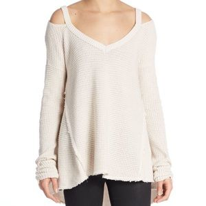 Free people could shoulder sweater