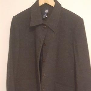Gap size large wool coat