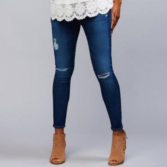 82f057155561 AG Jeans Secret Fit Belly Maternity Jean