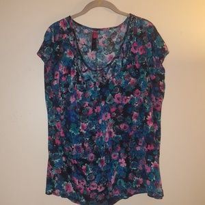 Pure Energy Tops - Floral top size 4 by pure energy