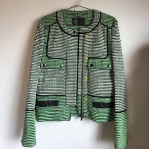 NWOT Proenza Schouler Basket-weave Tweed Jacket 10