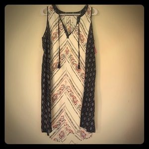 CUTE HI/LO SUMMER DRESS, SIZE L, NWT
