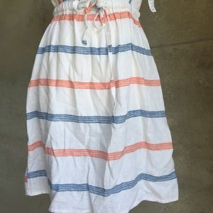 Old Navy Dresses - NWT white Gauze dress Great for summer!