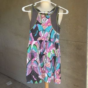 Beautiful girls multi colored cotton dress Sz 8