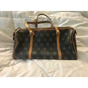 Vintage Dooney & Bourke Logo Handbag