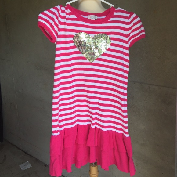Children's Place Dresses - Girls striped sweater dress 💗