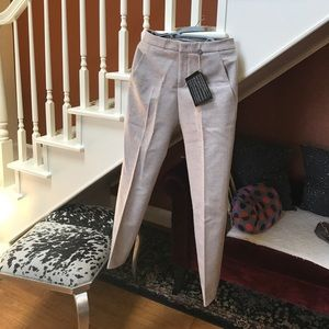 Jil Sander causal pants made in Italy light pink