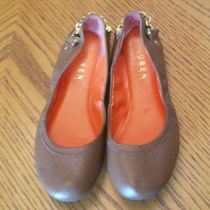 Lauren Ralph Lauren Leather Flats for Girls