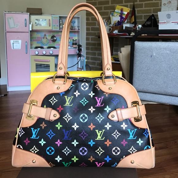 244d9df51d15 Louis Vuitton Handbags - Louis Vuitton Black Multicolor Claudia. Authentic
