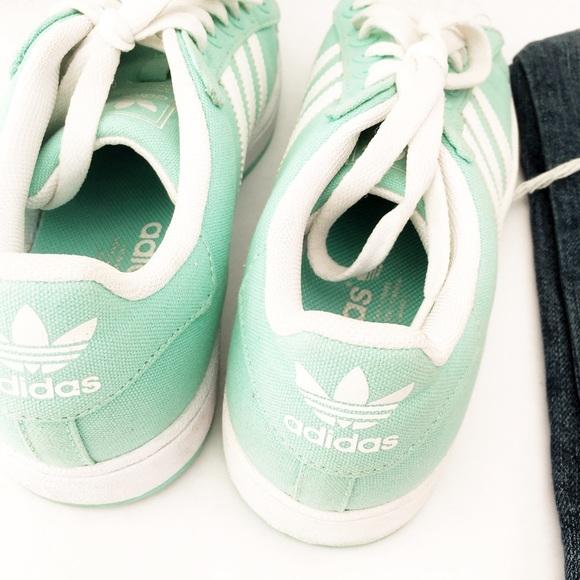 adidas Shoes | Mint Green Adidas Super