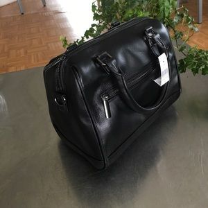 Handbags - NWT/ Barneys New York/ Duffle F15/ Leather Satchel