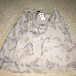 Gap Mini Floral Skirt