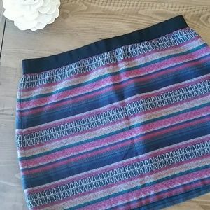American Eagle Outfitters Striped Skirt
