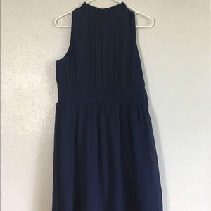 Modcloth Dresses - Stunning Navy High Neck Dress