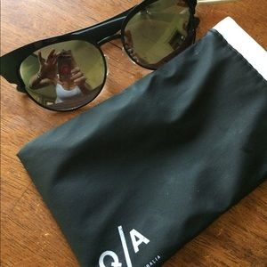 "Brand new ""zig"" quay mirror lens sunglasses"