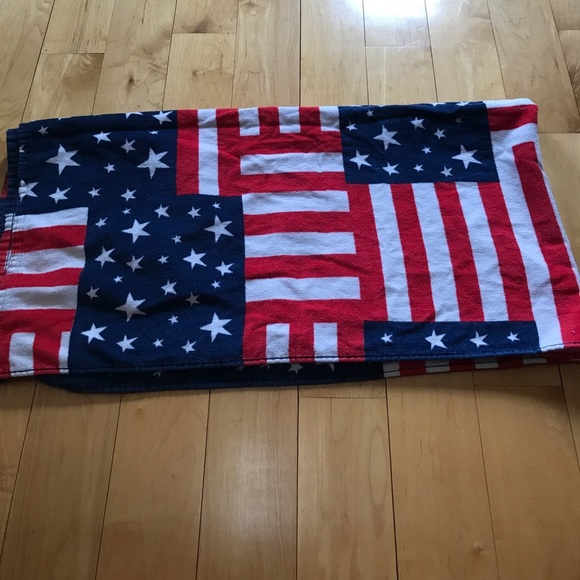 Old Navy Beach Towels.American Flag Beach Towel Never Used Without Tags