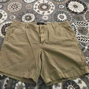 J.Crew Tan Chino shorts