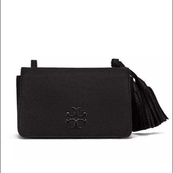 3be9d9e84ae Tory Burch Thea mini pebbled leather mini bag