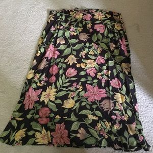 Gap Midi Skirt! Floral! Brand new!