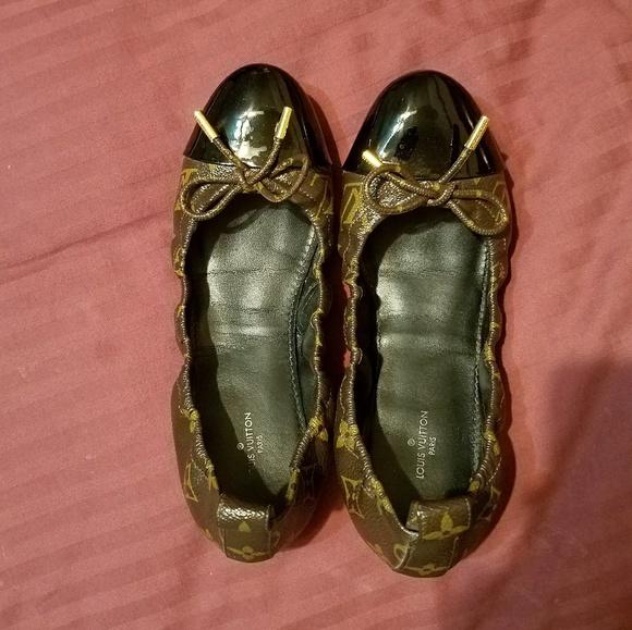 db459112b205 Louis Vuitton Shoes - Louis Vuitton Flirty Monogram Ballet Flats
