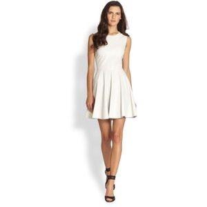 Diane Von Furstenberg Jeannie White Eyelet Dress