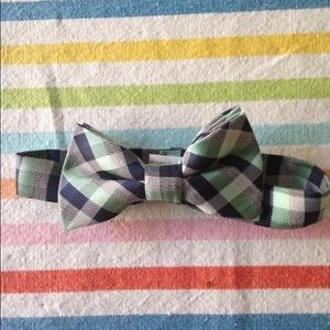 Other - Size 2T bowtie with blue and green plaid
