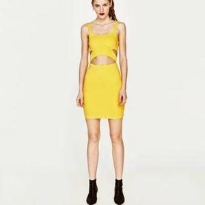 Strappy Dress Cut Out | Zara