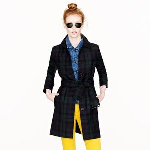 J. Crew Collection Slim Topper Trench