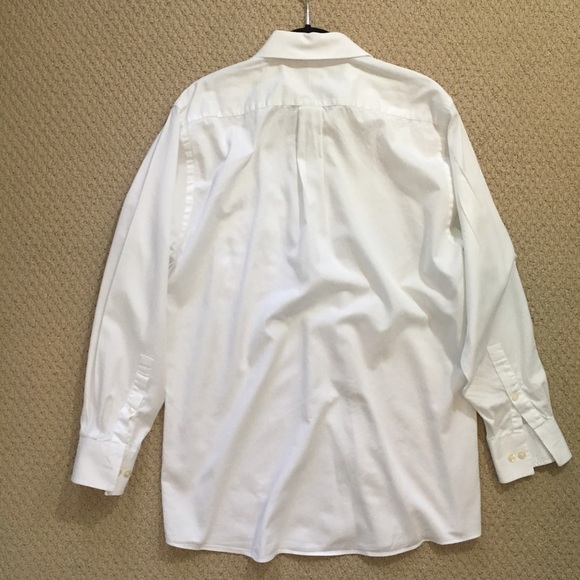 83 off michael kors other sale euc solid white michael for Michael kors mens shirts sale