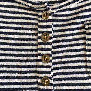 J. Crew Tops - J. Crew Perfect Fit Striped Cotton Tank Top