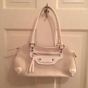 White Bag Prada Purse