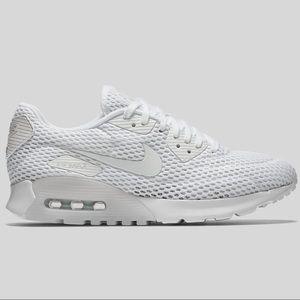 sale retailer 0953e 0ac19 Nike Shoes - Nike Air Max 90 Ultra BR White Pure Platinum