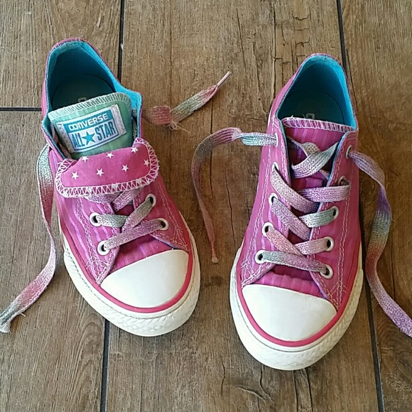 f7cfaadba201 Converse Other - CONVERSE DOUBLE TONGUE W SHIMMER