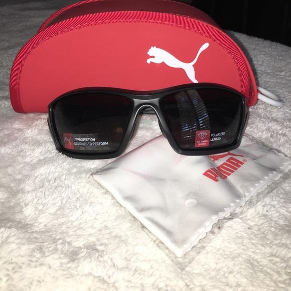 091a2f1222 Brand new puma polarized sunglasses.